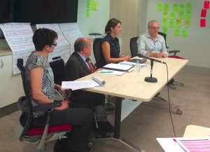 Closing stages of the NDIS Citizens' Jury held recently in Sydney.